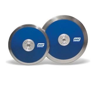Wettkampfdiskus Blau 1 kg