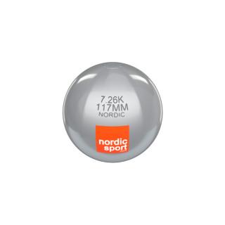Nordic Wettkampfkugeln aus Edelstahl /  3 kg / 109mm (IAAF zertifiziert)