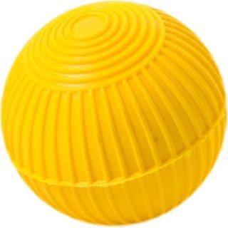 Wurfball Kunststoff mit Rillen