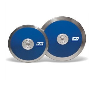 Wettkampfdiskus Blau 0.75 kg