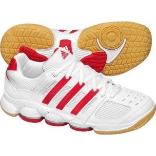 Ausverkauf Adidas Hallenschuhe Team Spezial Weiss-Rot 36