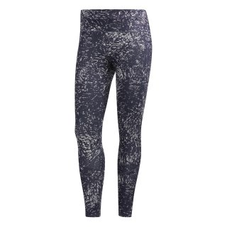 Adidas tight women trace blue/ acro green