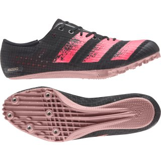 black / signal pink